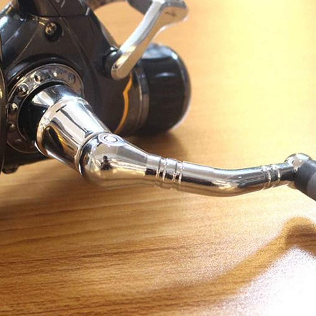 P/êche Moulinet Moulinet mer Spool Saltwater Rod roue avant arri/ère Conception frein pour sports de plein air Spinning match P/êche /à la carpe avec poign/ée /à bascule 8 1 Roulements