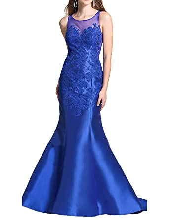 Vimans Womens 2018 Mermaid Prom Dresses Long Formal Evening Party Gowns Dress5078 at Amazon Womens Clothing store: