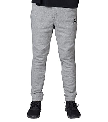 cb1e10c3f5cd2 Amazon.com: Jordan Mens City Fleece Sweatpants Dk Grey Heather ...
