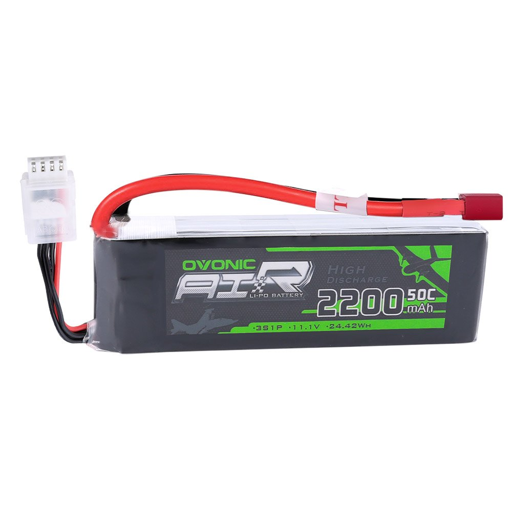 Ovonic 11.1V 2200mAh 3S 50C Lipo Battery with Deans Plug for RC Car Boat Truck Heli Airplane Quadcopter Helicopter Multi-Motor Hobby DIY Parts