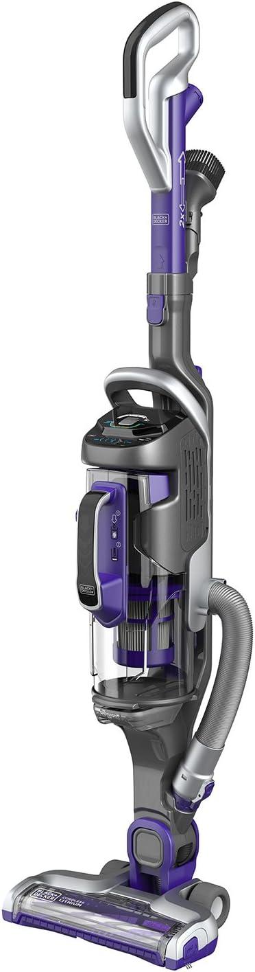 BLACK+DECKER CUA525BHP-QW - Aspiradora 2 en 1 a bateria de Litio 18V, 45 WH, 1.000 ml, con Accesorio para Mascotas: Amazon.es: Hogar