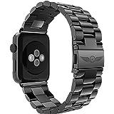 Aviato Apple Watch Premium Edelstahl Armband 42 mm mit Kürzer für Gliederarmbänder