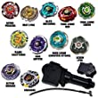 Beyblade Ultimate Speed Package Comes w/ 4 Random Bayblades from the Speed Series to Blaze Through the Competition Fully Equipped with LL2 Launcher and Grip // Shipped and Sold from the US