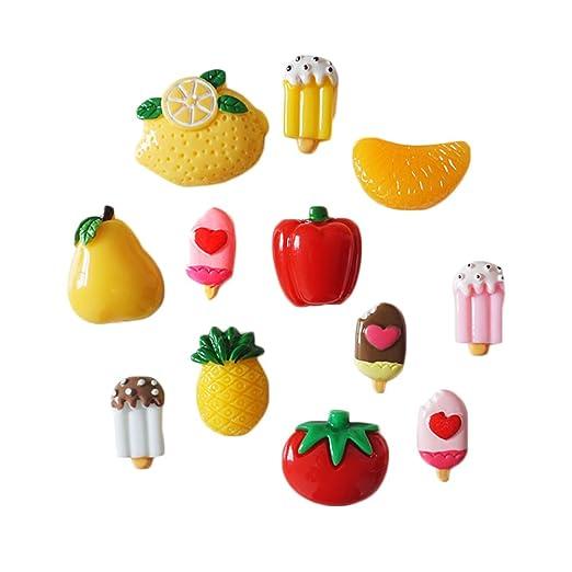 choold Creative verduras frutas imanes para nevera imanes de ...