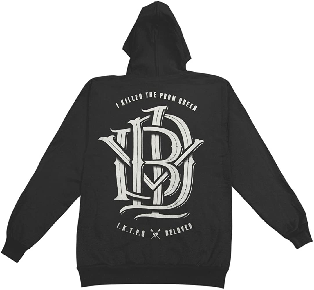 Authentic I KILLED THE PROM QUEEN Monogram Logo Zipup HOODIE S 2XL NEW