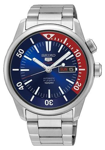 Seiko 5 Sports Reloj para hombre analógico Business automático Japón srpb25j1: Amazon.es: Relojes