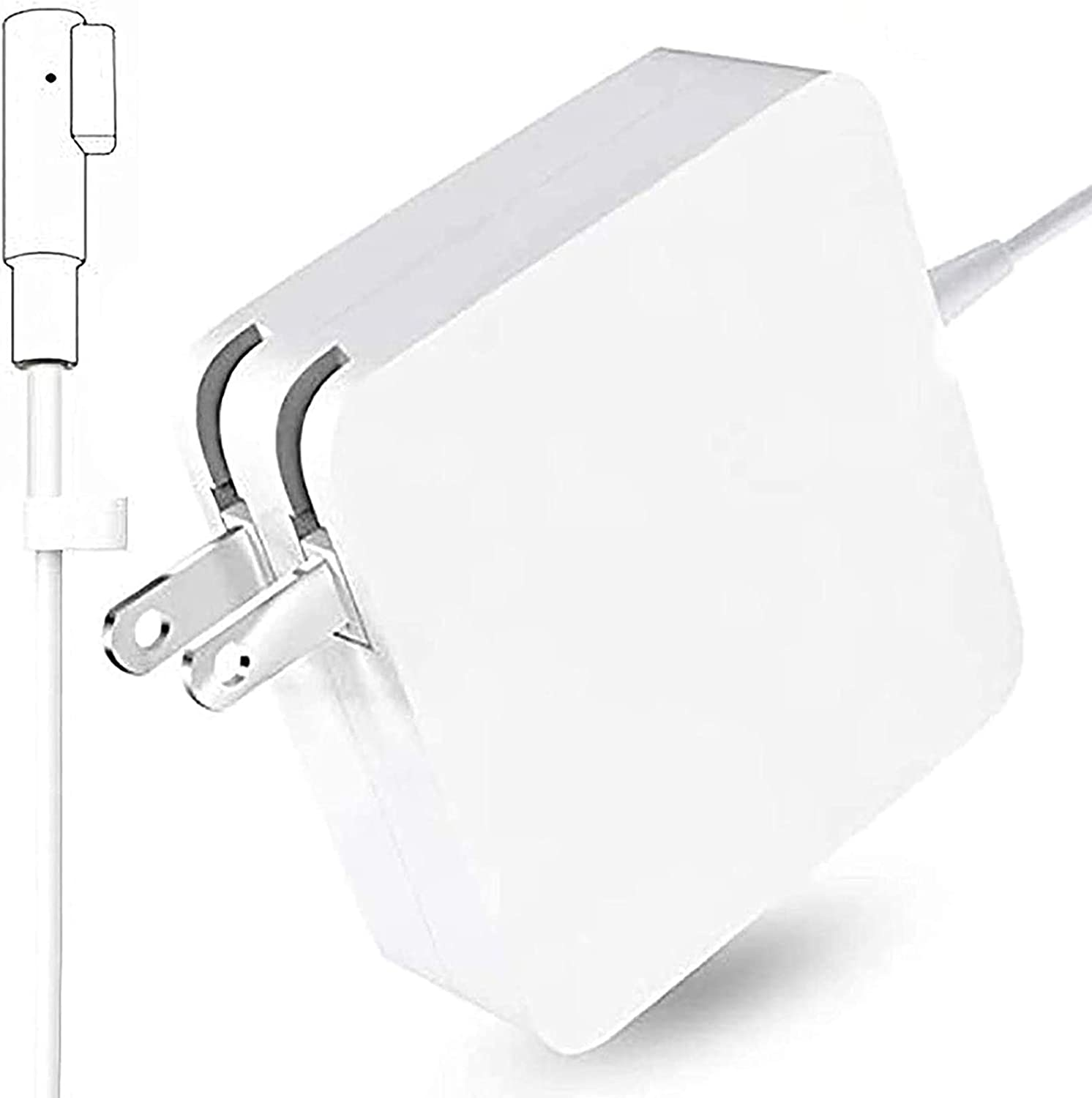 Mac Book Pro Charger, AC 60W Power Adapter Magnetic L-Tip Charger for Mac Book Pro 13-inch(Before Mid 2012 Models) (60L Tip)