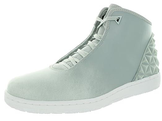 Nike Jordan Mens Jordan Instigator Grey Mist/White Casual Shoe 12 Men US