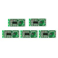 WINGONEER 5PCS Microwave Radar Sensor RCWL-0516 Switch Module Human Induction Board Detector