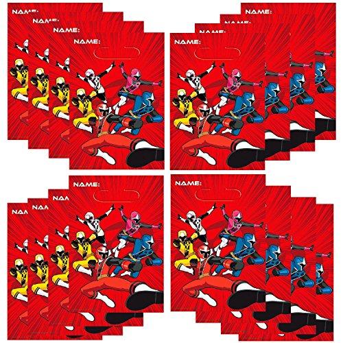 Power Rangers Ninja Steel Loot Bags 16 ct -