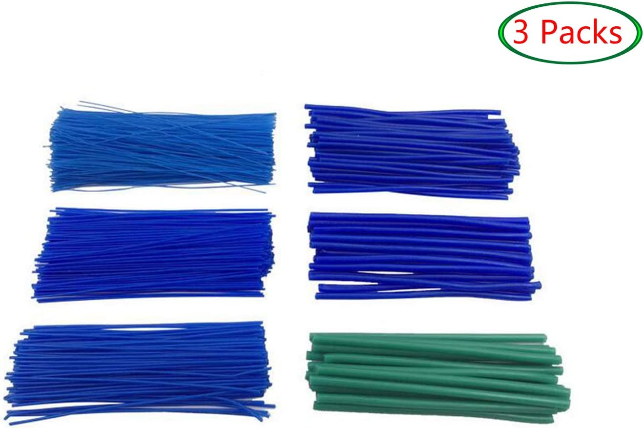3 Packs Zevipe Round Wax Line Wax Wire for Dental//Jewelry Mould Wax Casting 1.0mm Moulding Wax Line