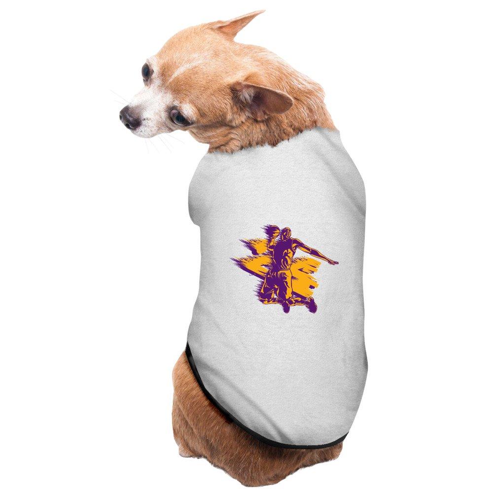 Los Angeles Lakers Kobe Bryant Cute Dog Sweater: Amazon.com: Books