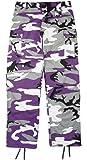 Kids Purple Camouflage BDU Pants