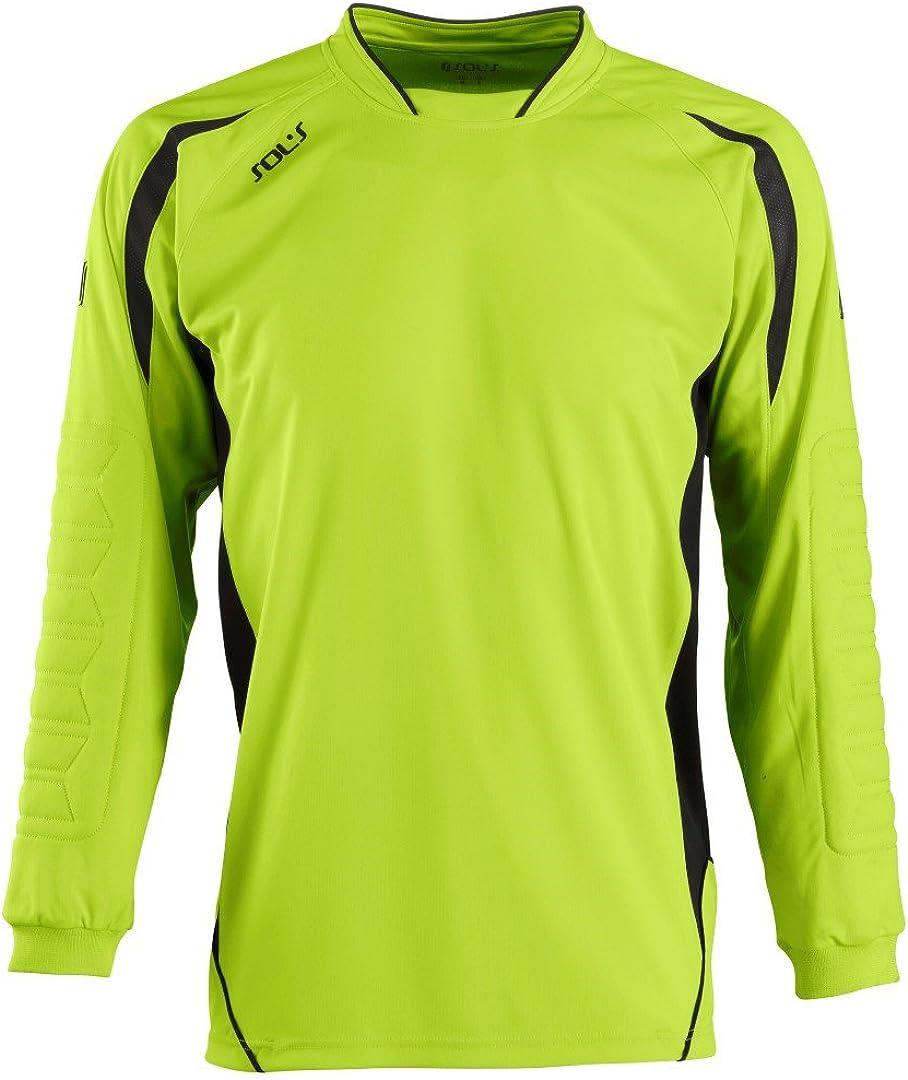 SOLS Kids Azteca Goalkeeper Football Long Sleeve Shirt