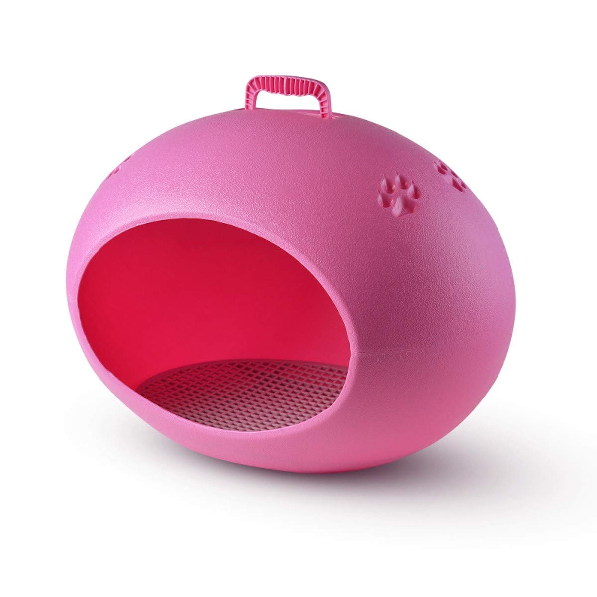 A LBTSQUniversal Waterproof Plastic EggShaped Cat'S Nest Dog'S Nest Dog'S House NoDemolition Outdoor Pet'S Nest Pet Supplies Dog Bed Dog House