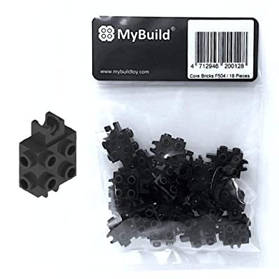 MyBuild Creative Building Bricks Mecha Base Individual Piece Ball Socket and Clip 18 Pieces F504: Toys & Games