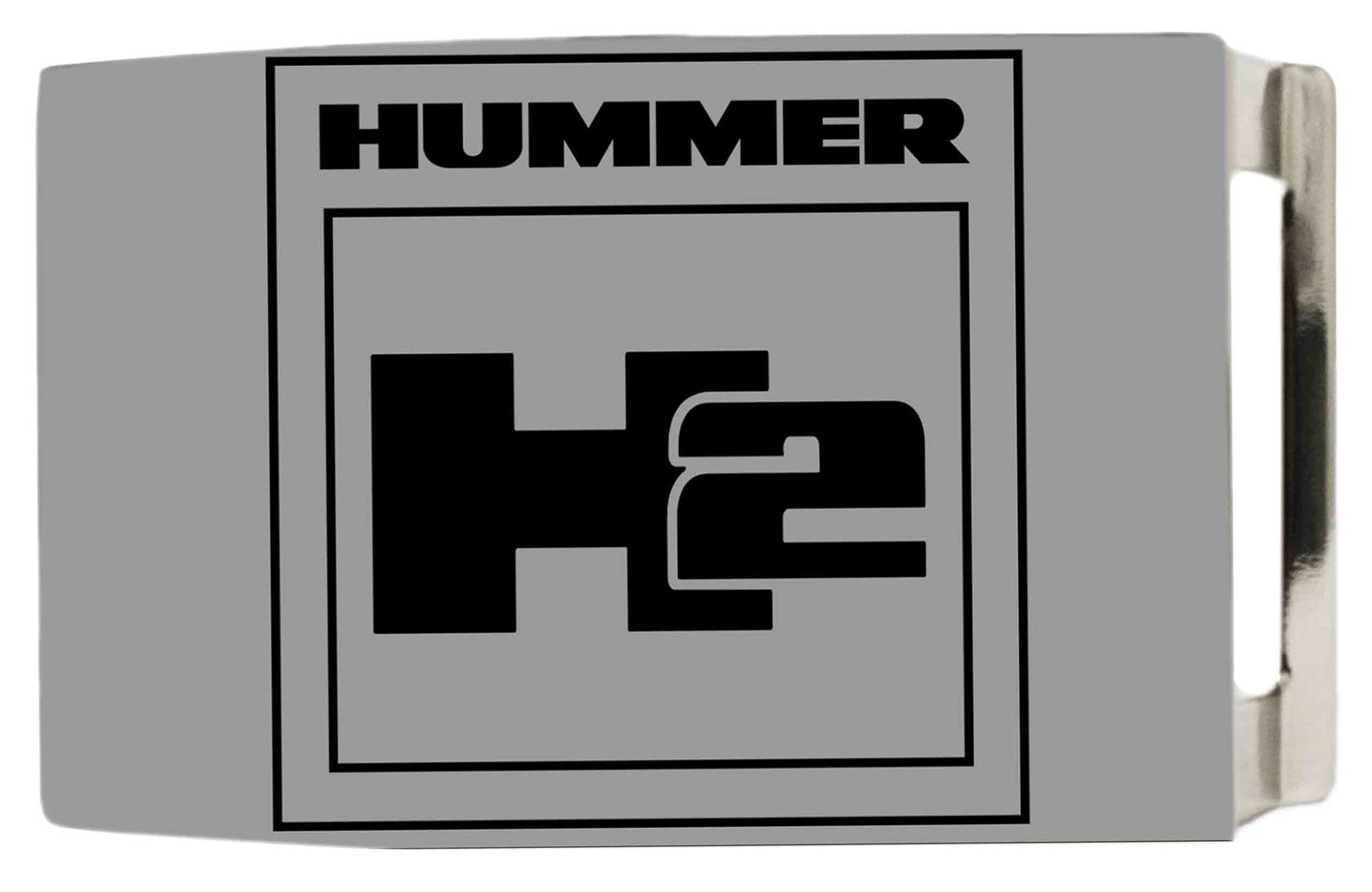 General Motors Automobile Company Matte Hummer H2 Logo Rockstar Belt Buckle Buckle Down