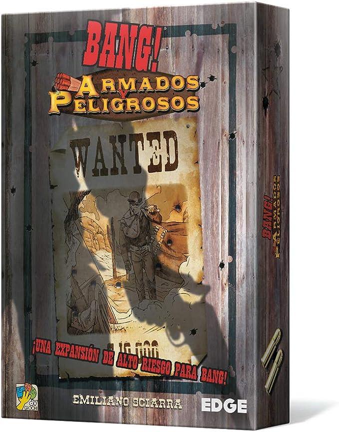 Edge Entertainment-Bang: Armados y peligrosos-Español (Edge Entertaiment EEDVBA07): Amazon.es: Juguetes y juegos