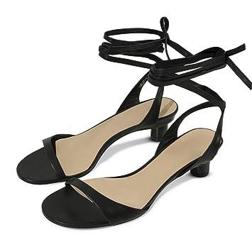 b0d8a60760c9de DIDIDD Sommer Einfache Ballett Riemen mit Freiliegenden Finger  Sandalen
