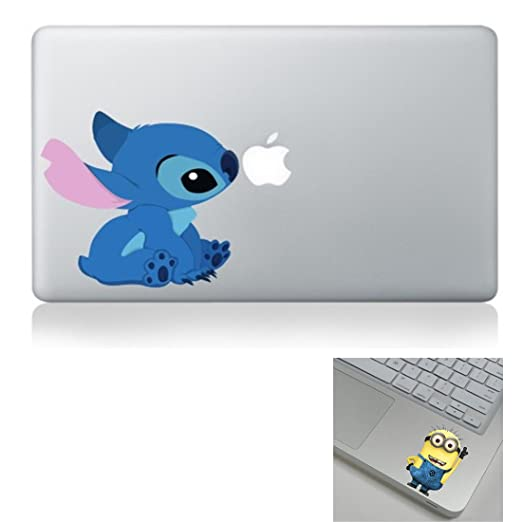 Cute Stitch Sticker Viny Decal For Apple Macbook Air Pro Retina 13quot15quot