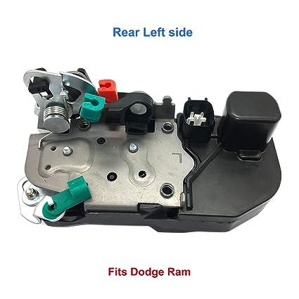 amazon com: rear door lock actuator left driver 931-644 for dodge ram 1500  2500 3500 door lock latch actuator motor assembly 55276795ab: automotive