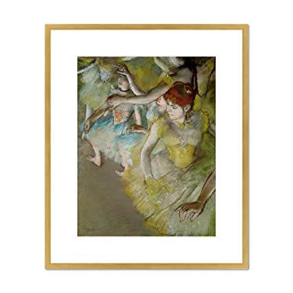 Amazon Com Ballet Dancers On The Stage By Edgar Degas 1883 Framed