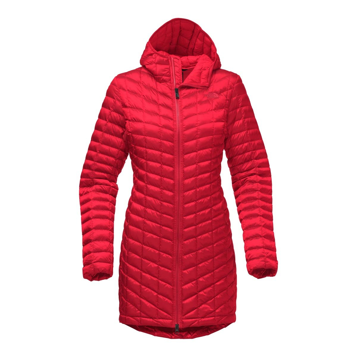 The North Face Women's Thermoball Parka II Red (X-Small)