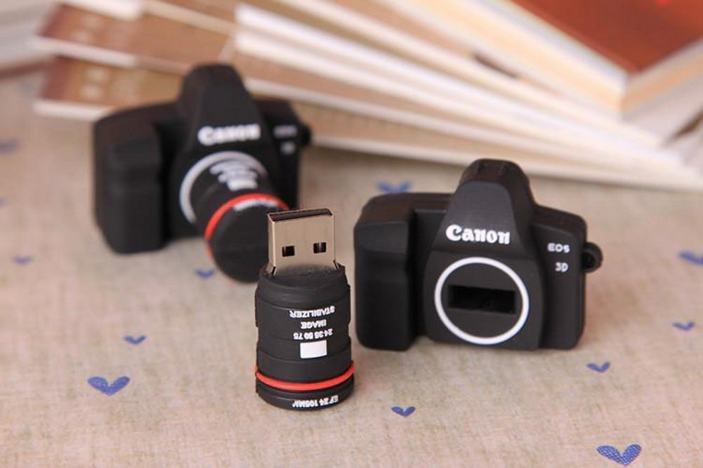 Creative Silicone Camera USB 2.0 Flash Drive 8GB by UE STORE (Image #4)