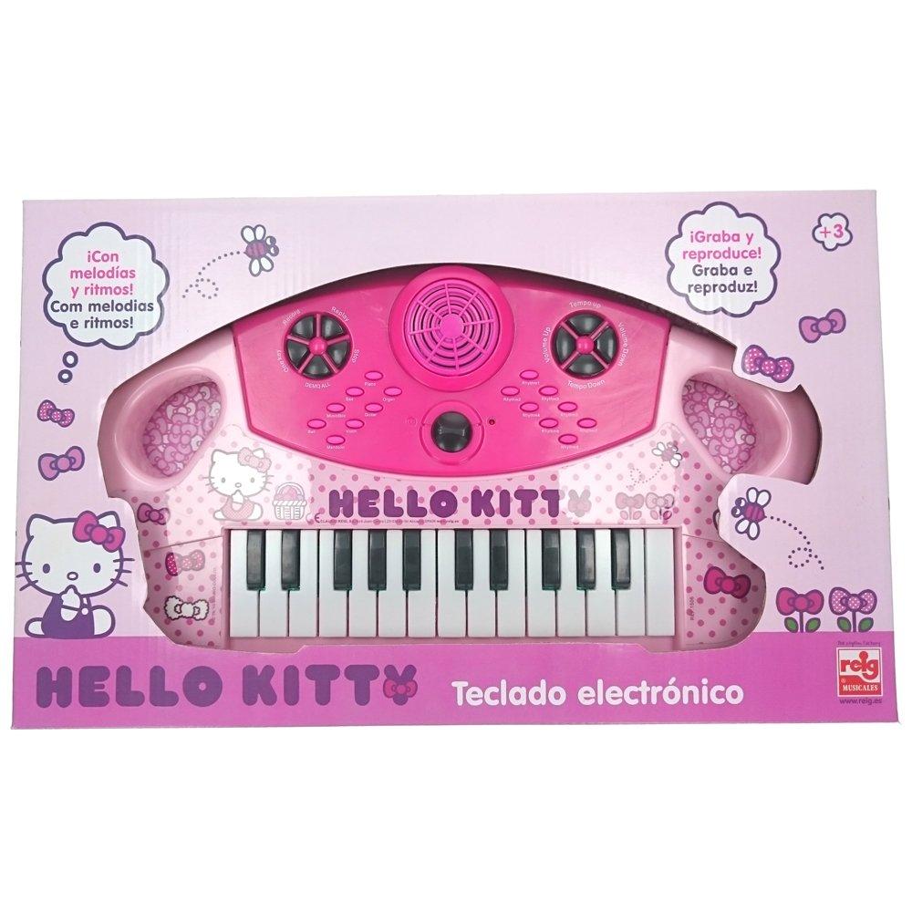 Reig REIG1506 Hello Kitty - Teclado electrónico (plástico): Amazon.es: Juguetes y juegos