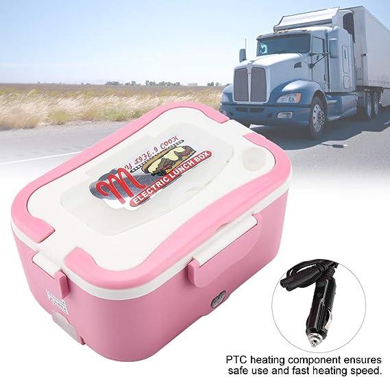 caja hornillo Eléctrico Bento para coche Calefacción viaje 24V ...