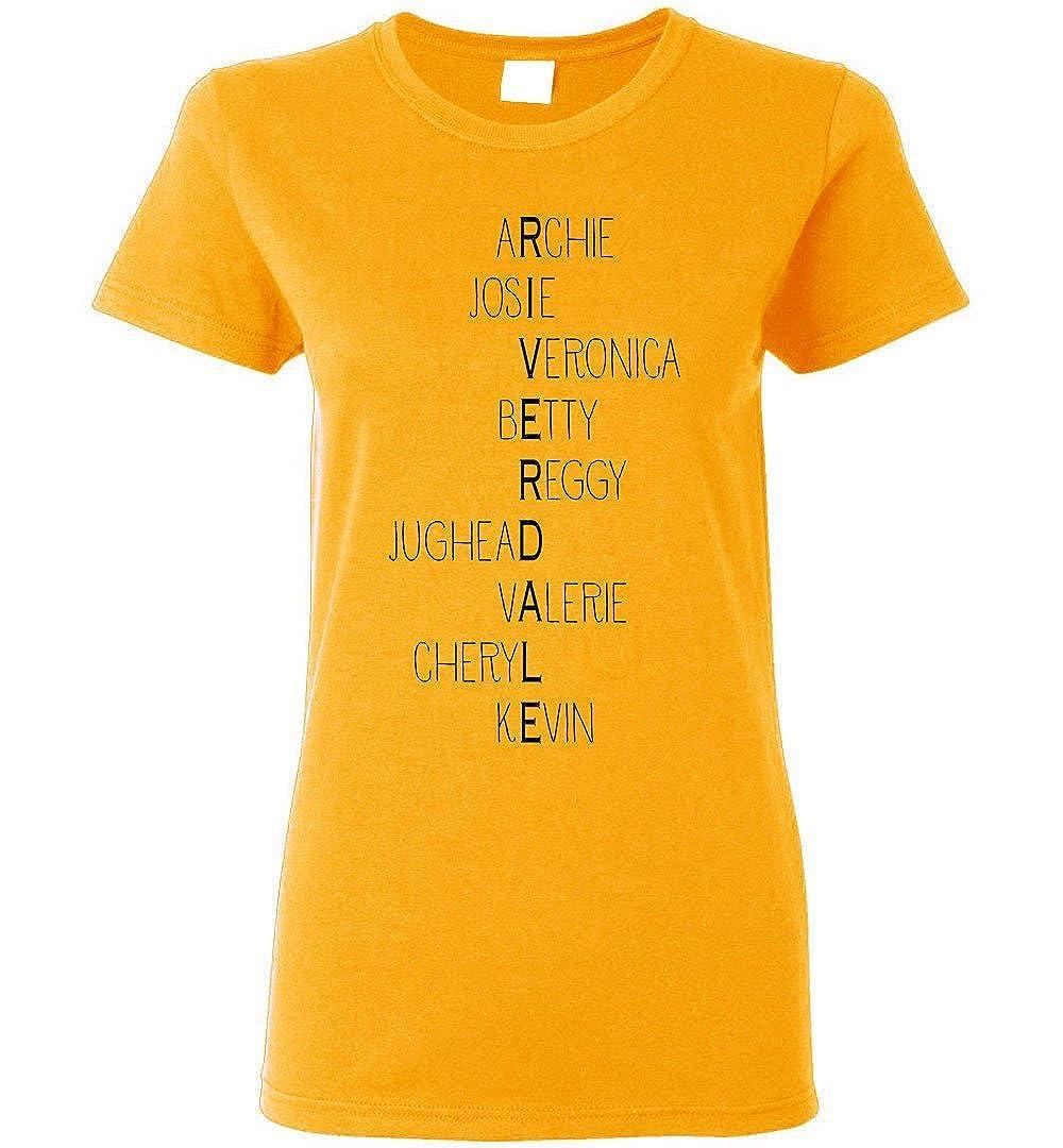 Threads Basket Riverdale High School Inspired Characters T-Shirt Women/Girls