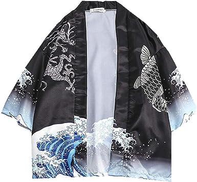NOBRAND - Chaqueta japonesa Daopao con 7 mangas y 5 camisas ...