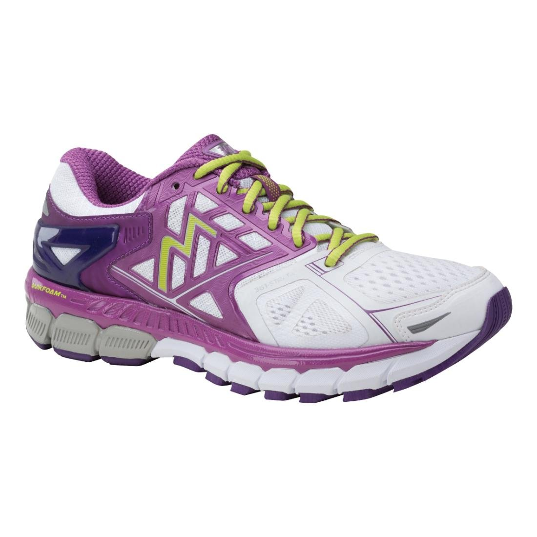 361 Degrees Womens Strata B01CEYV1DE 8 B(M) US|White/Violet