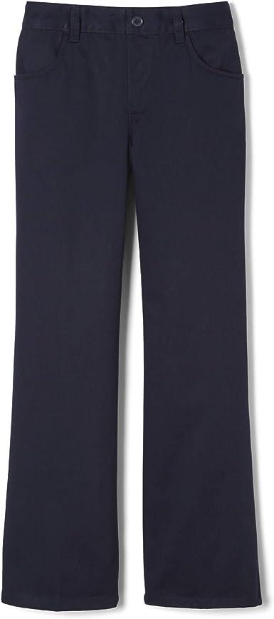 2 x Girls/' Crease Resistant Uniform School Trouser Size 11 YRS