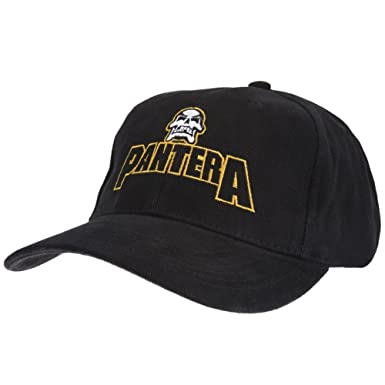 Old Glory Men s Pantera - Embroidered Logo Baseball Cap Cotton Hat   Amazon.co.uk  Clothing 6665c092fd1