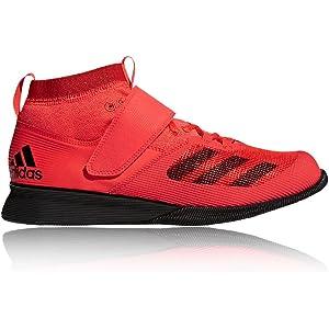Mens Gym – Adidas Crazy Power Weightlifting Shoes WhiteOrange