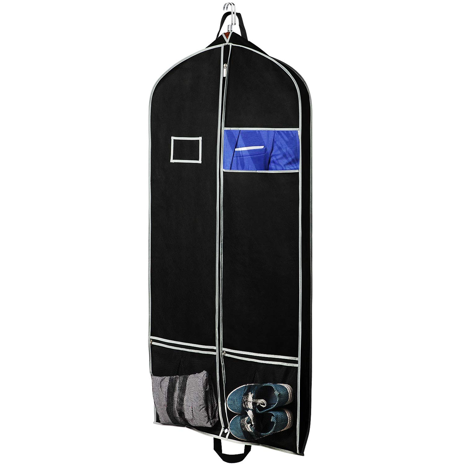 Amazon.com: Zilink Breathable Hanging Garment Bags for ...