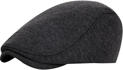 Demarkt Barette Flat Cap Schieberm/ütze Schirmm/ütze Schildmm/ütze Flatcaps Rot