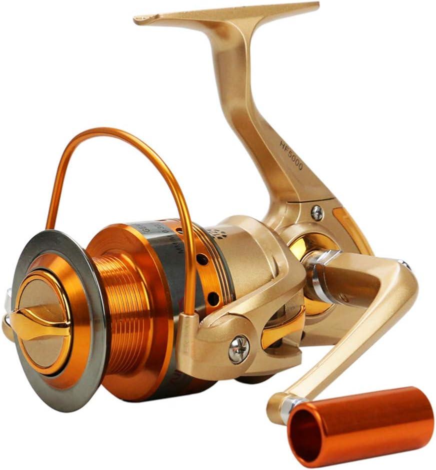 ciellte Carrete de Pesca HF1000 – 9000 yumoshi Rueda de Pesca ...