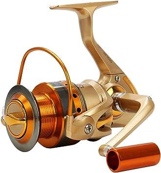 HoSayLike Metal Spinning Fishing Reel Peche Rueda Spinning Reel ...