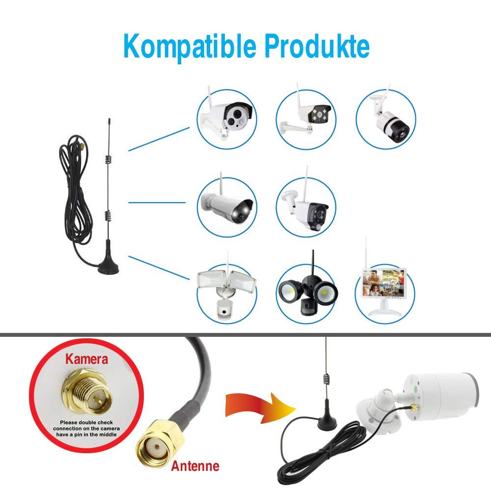 r/ép/éteur Booster Extender IPC extension de la port/ée sans fil pour le syst/ème de cam/éra de surveillance /à domicile Blanc Tonton Routeur IPC routeur pour cam/éra IP avec r/ép/éteur WiFi