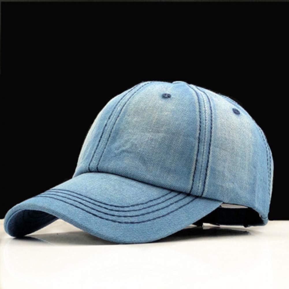 DAYOUZ Gorra de Beisbol Gorra De Béisbol Mujer Papá Snapback Gorras HombresSombreros para Hombres Falt Bone Denim Jeans Blank Gorras Casquette Plain Dad Cap Hat
