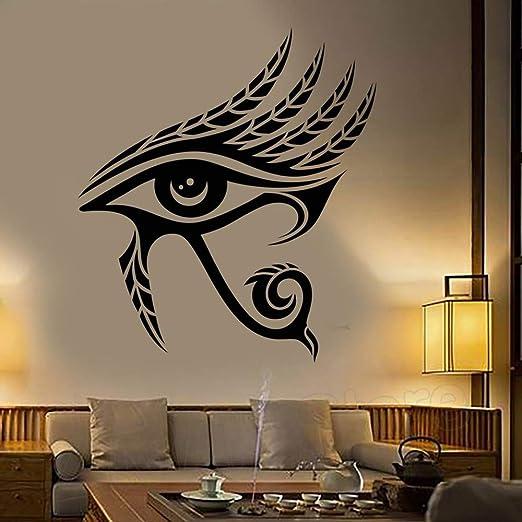 zzlfn3lv Ojo de Horus Egipto Símbolo Arte de la Pared Tatuajes de ...