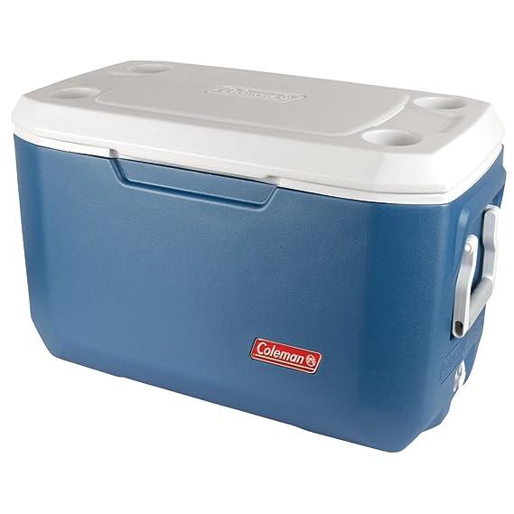 Coleman Passive Kühlbox 70QT Extreme - Mobile Thermobox fürs Auto & Camping, Fassungsvermögen 66 Liter (20x1,5L Flaschen) Coo