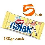 Galak Chocolate de Leche Venezuela 130 gr (5 Pack/130 gr)