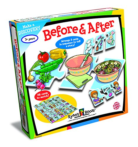 Small World Toys Ryan's Room Educational - Before and After Sequencing Game (Toys World Room Ryans Small)