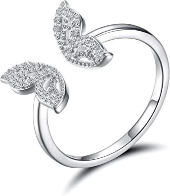 Sterling Silver 925  Butterfly Ring
