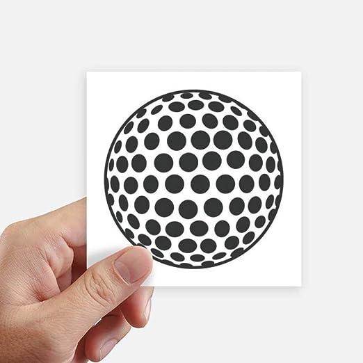 DIYthinker Del Deporte del Golf geometría Simple patrón Cuadrado ...