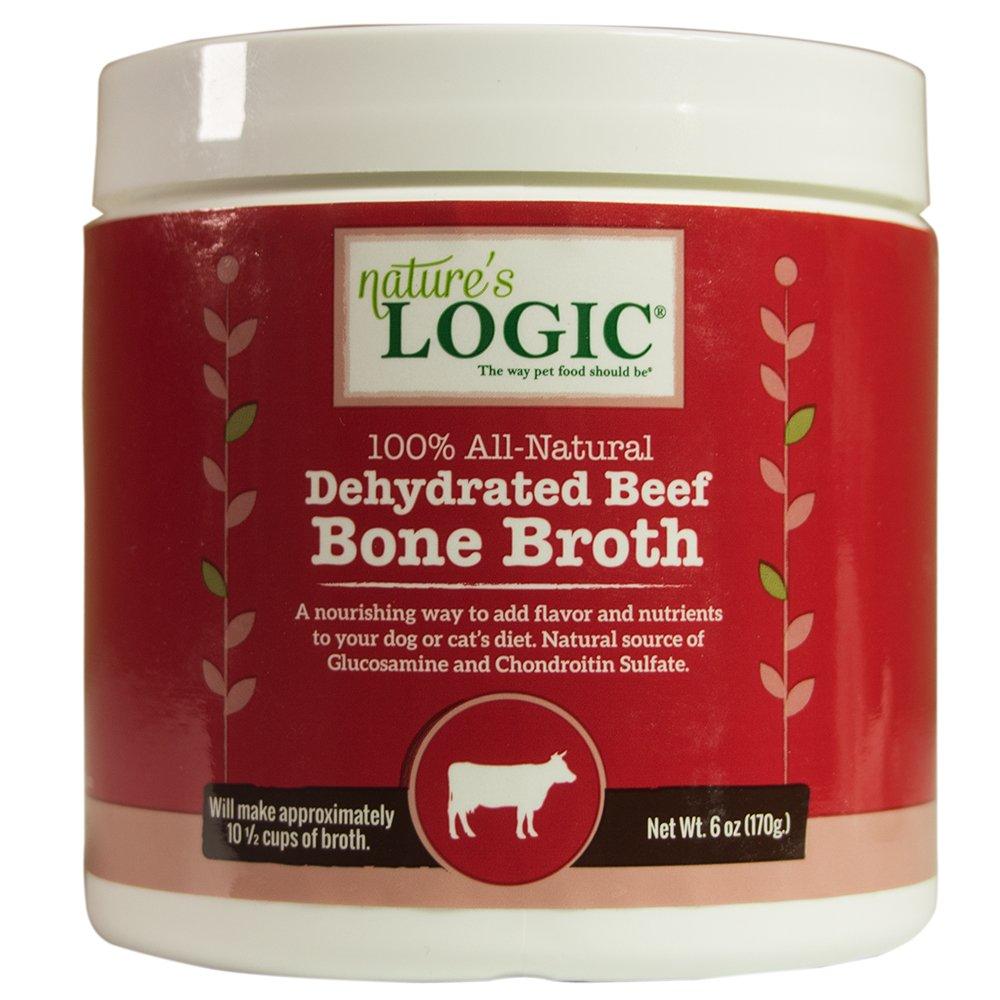NATURE'S LOGIC Dehydrated Beef Bone Broth, 6oz