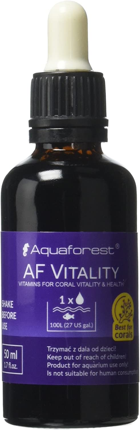 Aquaforest CoralV Concentrated Vitamins for Corals, 50ml